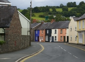 road thru llanymdyfri